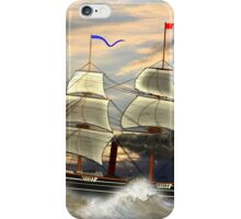 Paddle Steamer SS Savannah 1819 iPhone Case/Skin