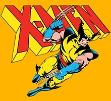 Wolverine Retro Comic X-Men by zamora