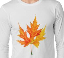 autumn maple-leaf Long Sleeve T-Shirt