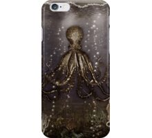 Octopus' lair - Old Photo iPhone Case/Skin