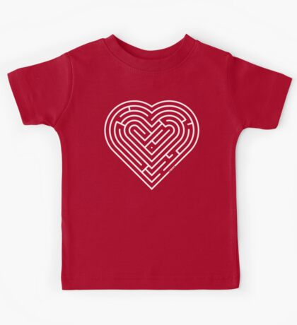 Labyrinth Heart Kids Tee