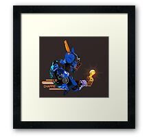 I am Chappie Framed Print