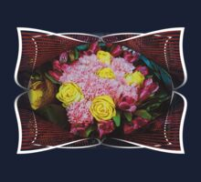 Bouquet of pink roses One Piece - Long Sleeve
