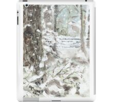 Out of Bounds - Free falling Snow iPad Case/Skin