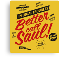 Better Call Saul Breaking Bad  Canvas Print