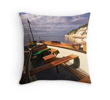 Tweedledum Throw Pillow