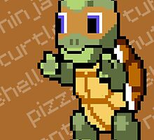 Squirtle Turtle - Mikey by Vitalitee
