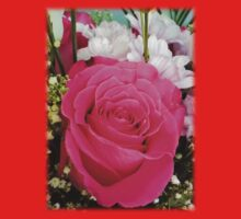Pink rose in bouquet Kids Clothes