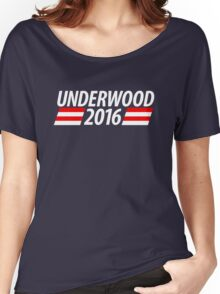 Underwood 2016 shirt campaign poster mug Women's Relaxed Fit T-Shirt