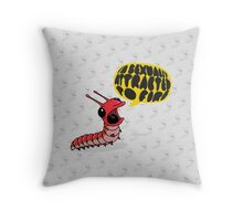 Screamapillar - Sexually Attracted to Fire Throw Pillow