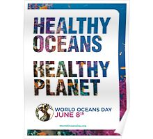 Style 1: World Oceans Day poster Poster
