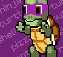 Squirtle Turtle - Donnie by Vitalitee