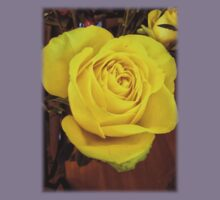 Yellow rose in bouquet Kids Clothes