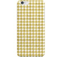 Golden Pied de Poule iPhone Case/Skin
