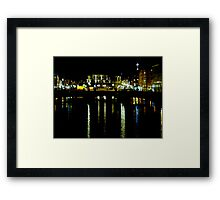 City Reflections Framed Print
