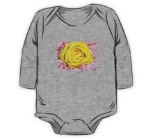 Yellow rose in bouquet 6 One Piece - Long Sleeve