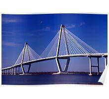 Cooper River Bridge Poster