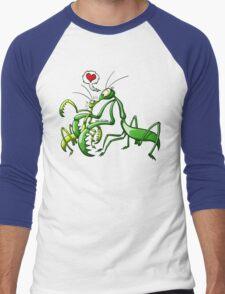 Pray, Love and Die Men's Baseball ¾ T-Shirt