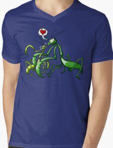 Pray, Love and Die Mens V-Neck T-Shirt