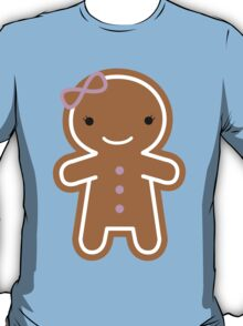 Cookie Cute Gingerbread Girl T-Shirt