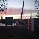 sail bridge in marina by John farthing