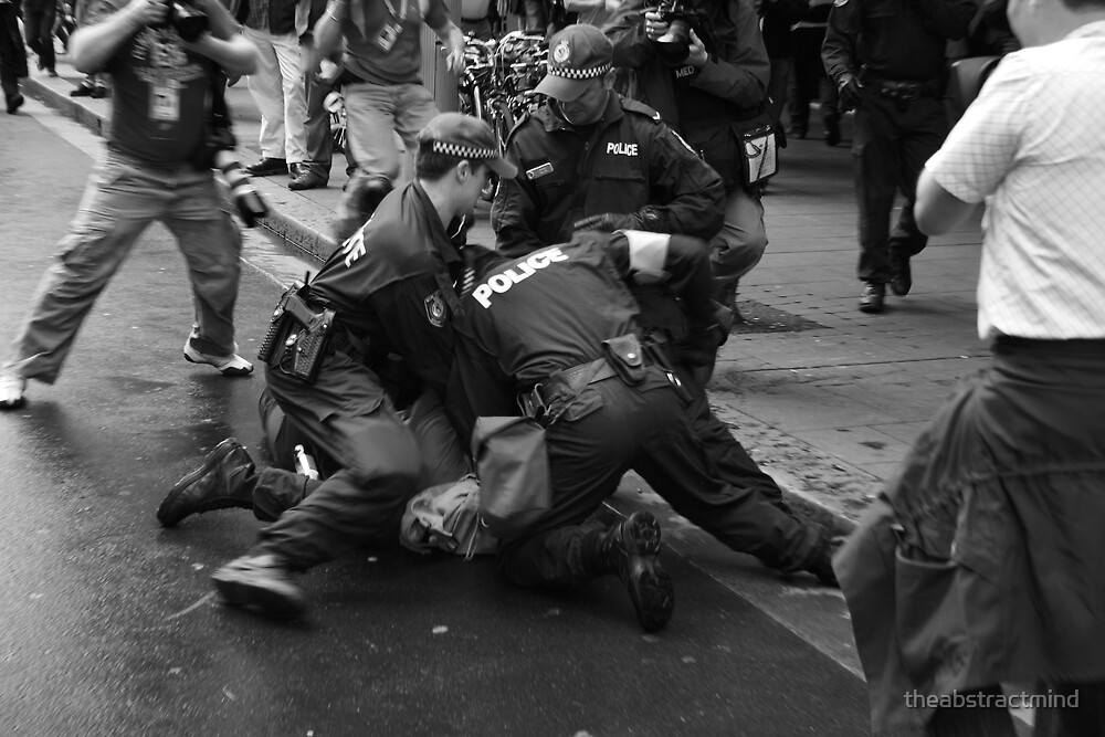 Police, Camera, Action by theabstractmind
