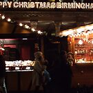 Happy Christmas Birmingham by Andrew  Wakelin