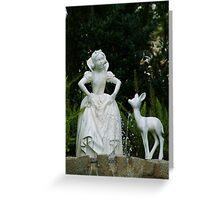 Snow White Wishing Greeting Card