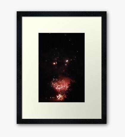 Daemon-Works Framed Print