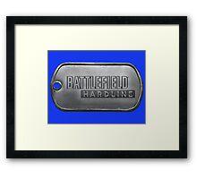 Battlefield Hardline Dogtag Framed Print