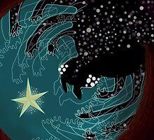 Spider Galaxy by Zsuzsa Goodyer
