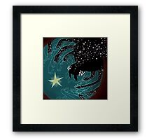 Spider Galaxy Framed Print