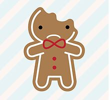 Cookie Cute Sad Gingerbread Man  by marcelinesmith