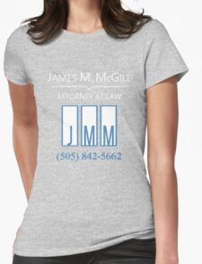 Better call... Jimmy Womens Fitted T-Shirt