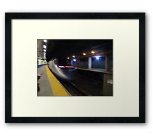 Acela Express Exits Providence Station [ Featured* ] Framed Print