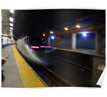 Acela Express Exits Providence Station [ Featured* ] Poster