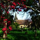 Byfleet Churchyard by Colin J Williams Photography
