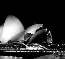 Sydney After Dark - Opera House by Daniel Pua