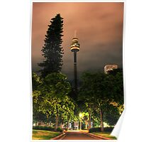 Sydney After Dark - Centrepoint Tower III Poster