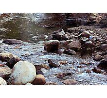 Rushing Water Photographic Print