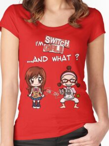 Switch Girl Women's Fitted Scoop T-Shirt