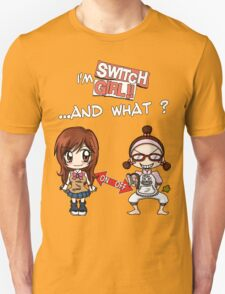 Switch Girl Unisex T-Shirt