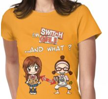 Switch Girl Womens Fitted T-Shirt