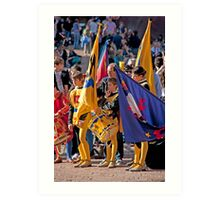 Siena Pageantry Art Print