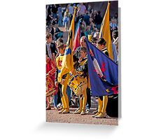 Siena Pageantry Greeting Card