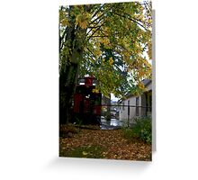 House Trained Train Greeting Card