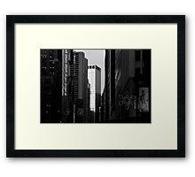 Broadway Canyon Framed Print