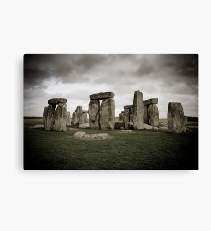 Stonehenge, UK. Canvas Print