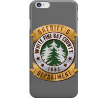 White Pines Bay Sheriff iPhone Case/Skin