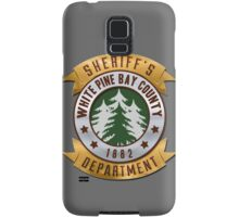 White Pines Bay Sheriff Samsung Galaxy Case/Skin